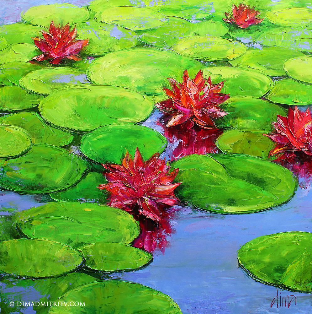 Water Lillies : Dima Dmitriev